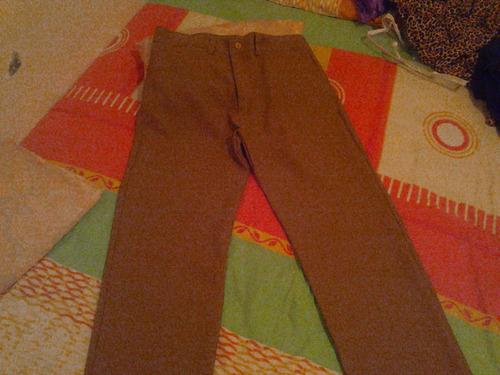 pantalon color mostaza, talla m, tela casimir. no es stretch