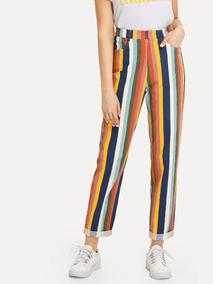 87c05538c Pantalon Colores Jeans Dama Pantalones Dama Ropa Mujer