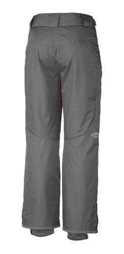 pantalón columbia bugaboo 2 gris ski snowboard hombre