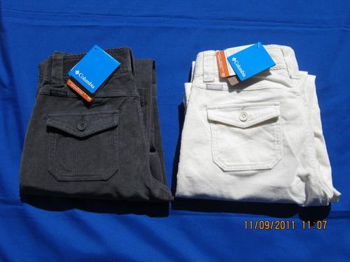 pantalon columbia mujer vapor trail - ultimas unidades.