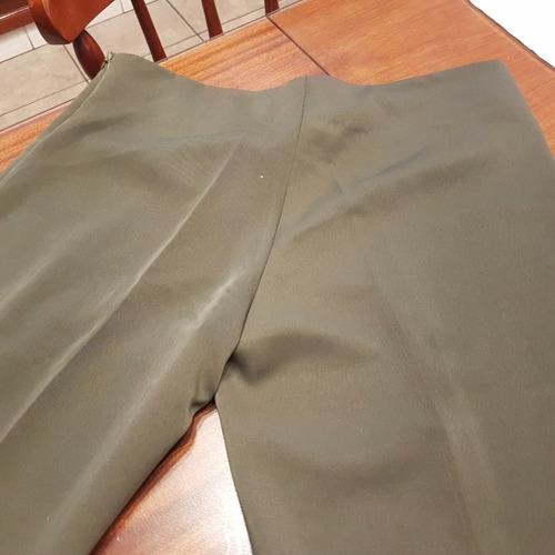 pantalon con botamangas bordadas t 3