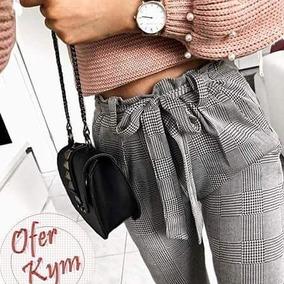 Lazo Pantalon Con Pantalon Con Cuadros A Lazo Yfv7my6Ibg