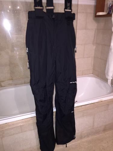 pantalón con tiradores ski adulto trespass