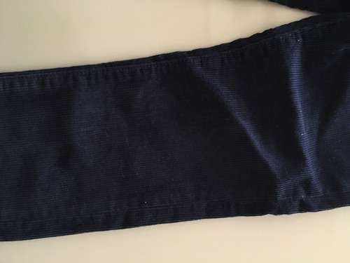 pantalón corderoy azul marino nene talle 4 gap