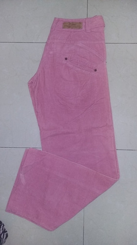 pantalón corderoy rosa 47 street 6 cuotas sin interes