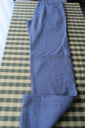 pantalón corte de jean, tela de otoño-invierno, marca mancin