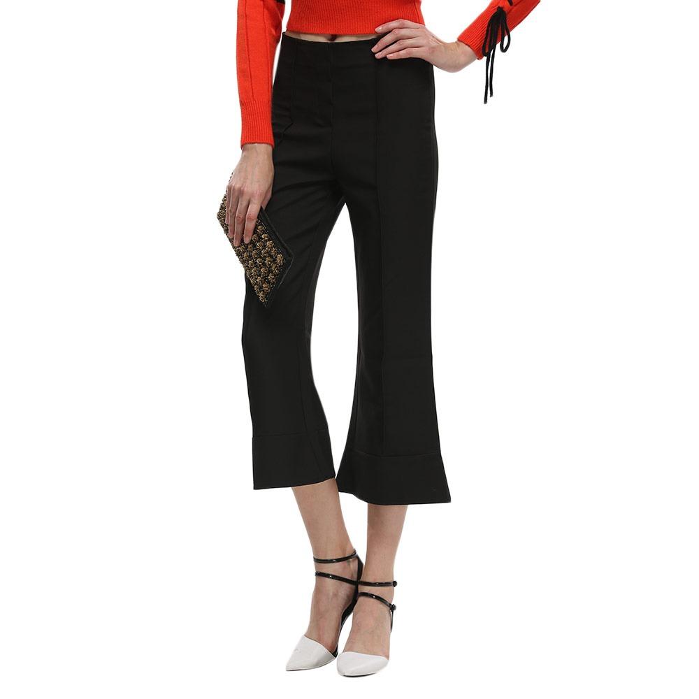 diseño popular 2019 real la compra auténtico Pantalón Corto Acampanado Con Cierre Para Mujer