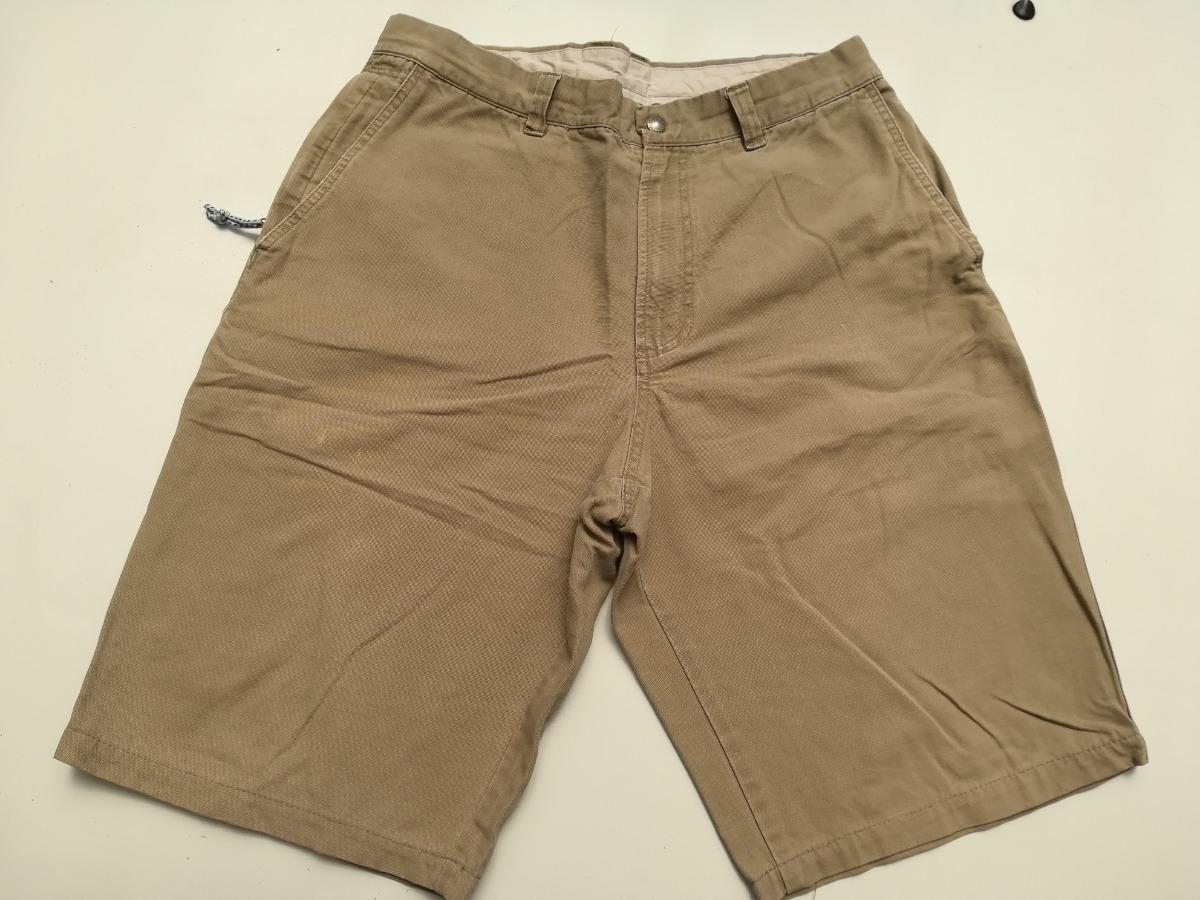 Pantalon Corto Columbia De Lona Talla 44 ( 34-34) Color Cafe ... 4a0800cf0791