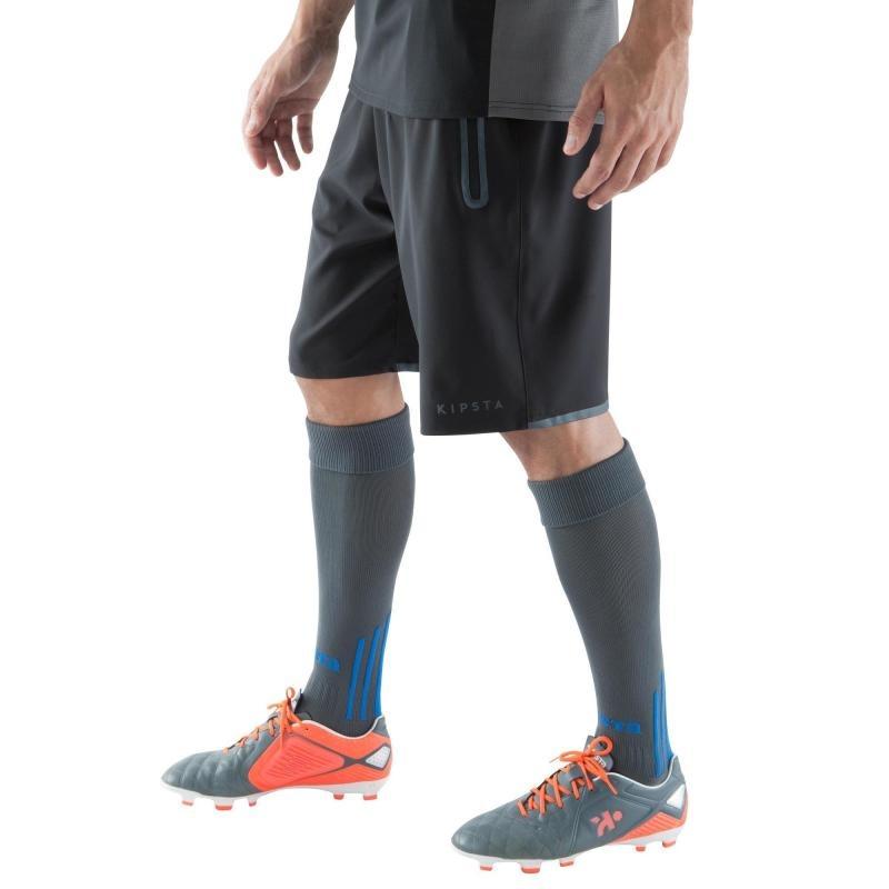 3ef18641febf6 pantalón corto de fútbol bolsillos con cremallera adulto. Cargando zoom.