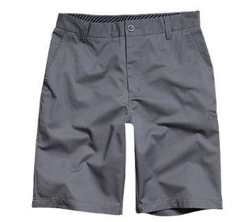 pantalón corto fox racing essex solid juv. gris plomizo 25