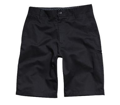 pantalón corto fox racing essex solid juvenil negro 28