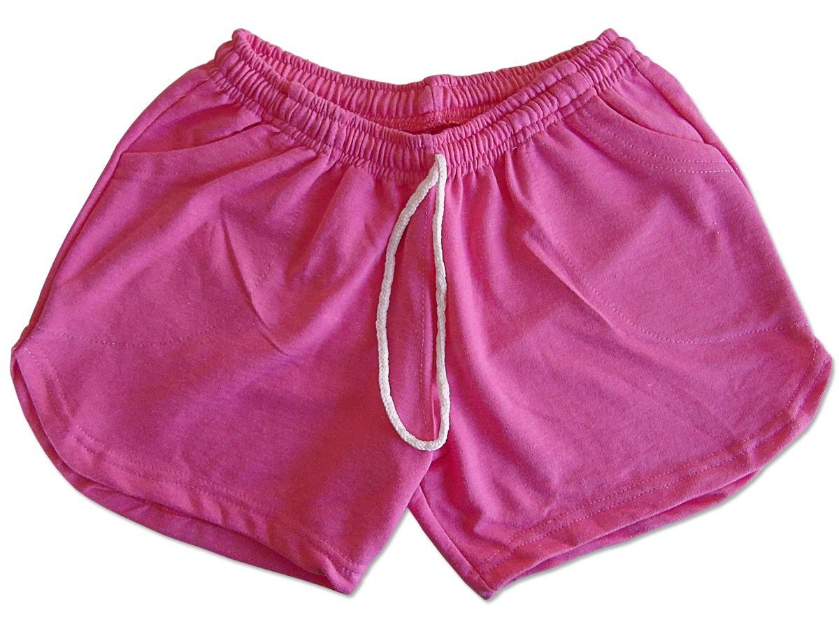 4a18070b8 Pantalon Corto Short Algodon Nena Niña Talle 10 Fucsia