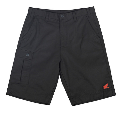 pantalón corto troy lee designs honda team p/hombre negro 28