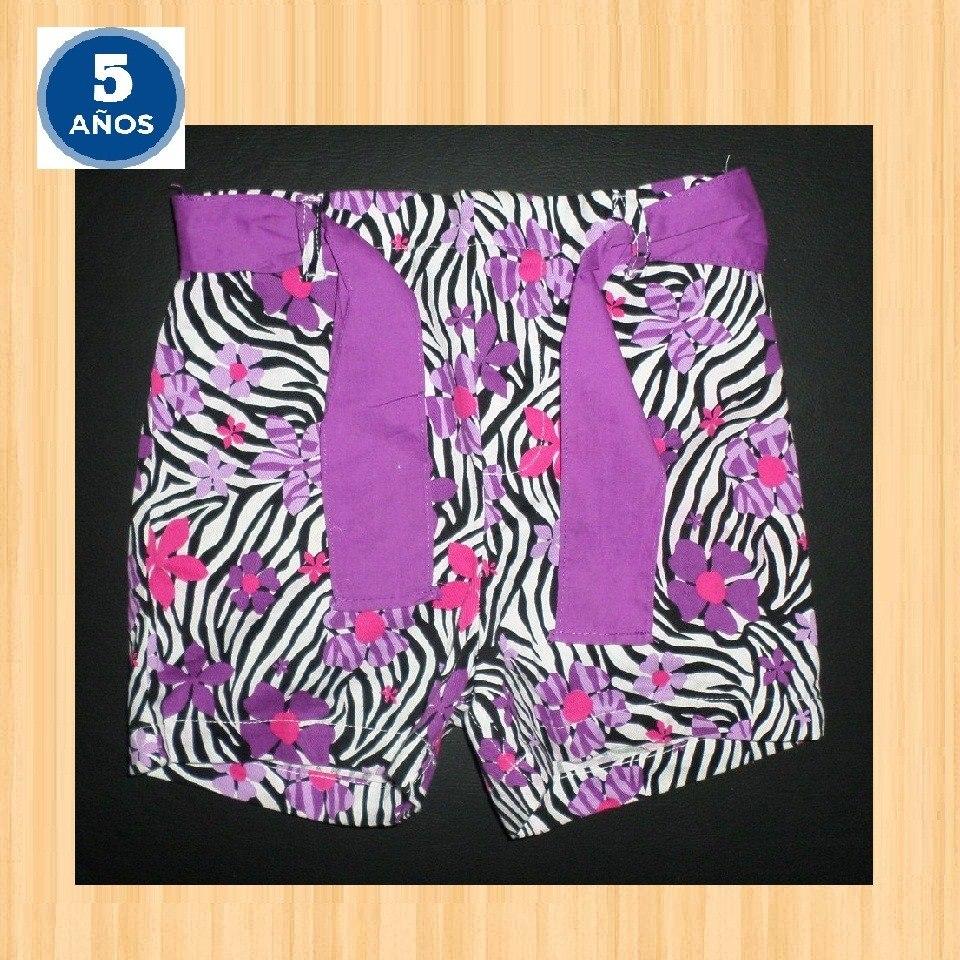 f819f36ba Pantalon Corto Y Mini Nena 5 Años