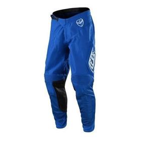 Pantalon Cross Troy Lee Se Solo Blue- Andes Motors