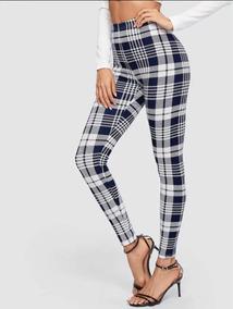 Calcetines Leggins Pantalones Blanco Cuadros Y Negro Jeans Ropa LVUSzMpqG