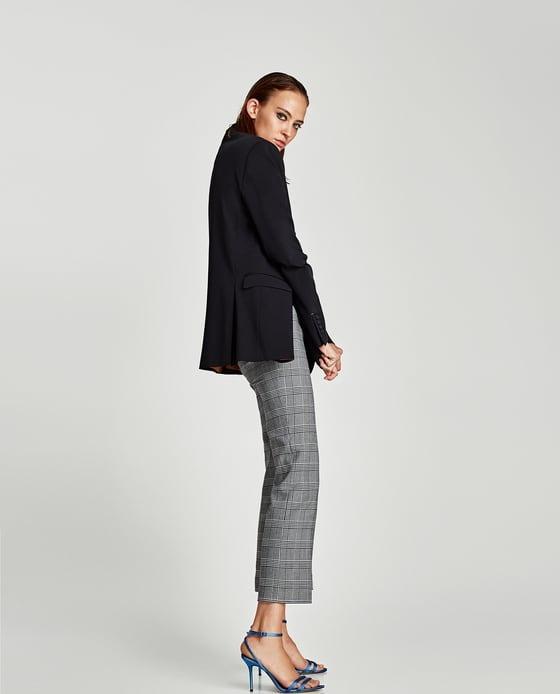 Pantalón En Zara 1 00 Libre Mercado Cuadros 100 XrqOXH