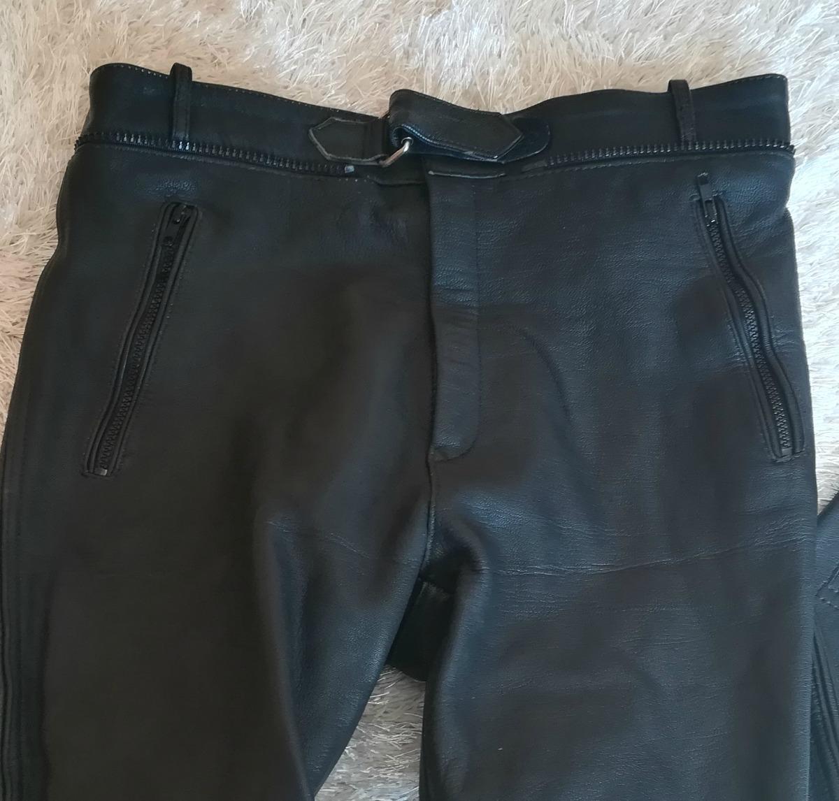 Pantalón Cuero Hombre Moto (pnt-cue-05) -   36.600 en Mercado Libre 3b0b4920f187