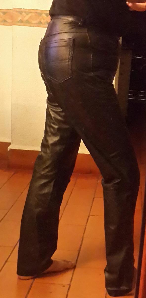 pantalón cuero mujer moto.t 46.o l.medidas.san isidro. Cargando zoom. be9f257a096a