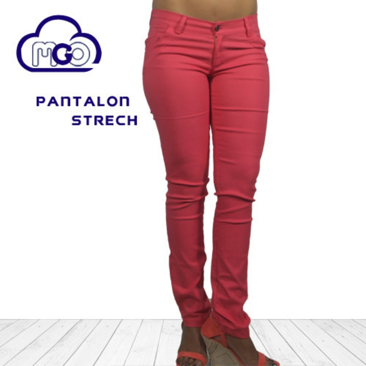 Pantalón Dama Jeans Strech De Colores Mgo Originales - Bs. 3.600,00 ...