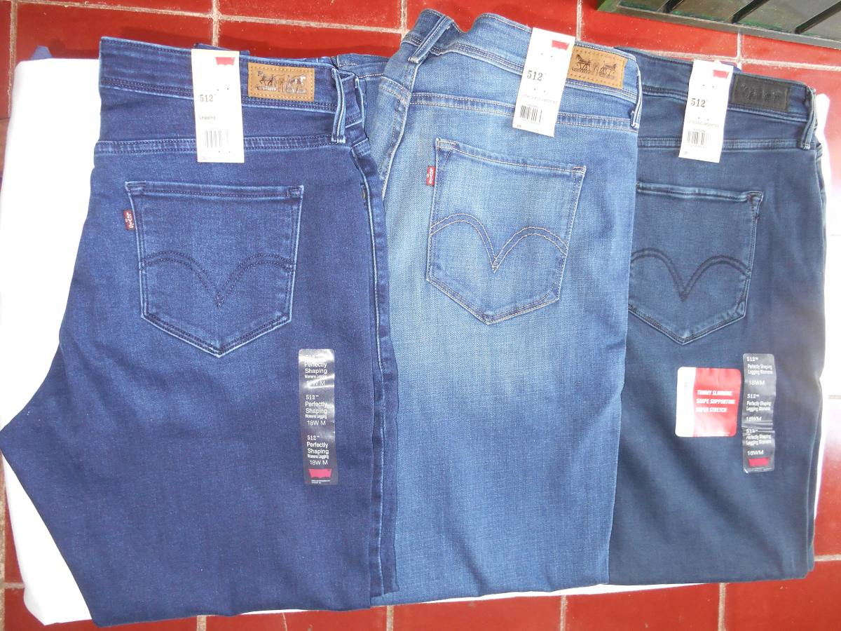 los recién llegados 3a76b b47d7 Pantalon Dama Levi's Modelo 512 Leggins Tallas Extras