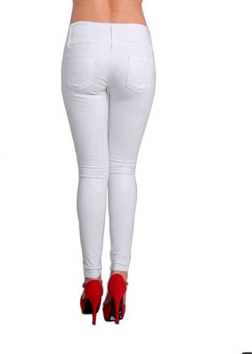 pantalón dama rasgado
