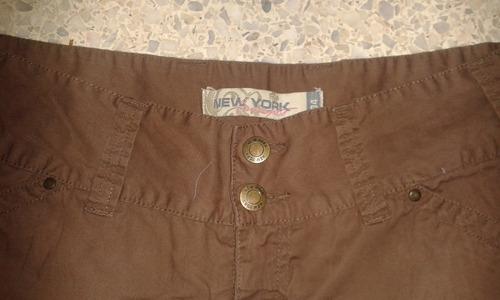 pantalon dama tipo pescador new york