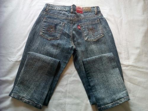 pantalon dama tubito  marca sambil jeans ladies strech