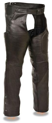 pantalón d/cuero milwaukee  hombre 3bolsill negro lg