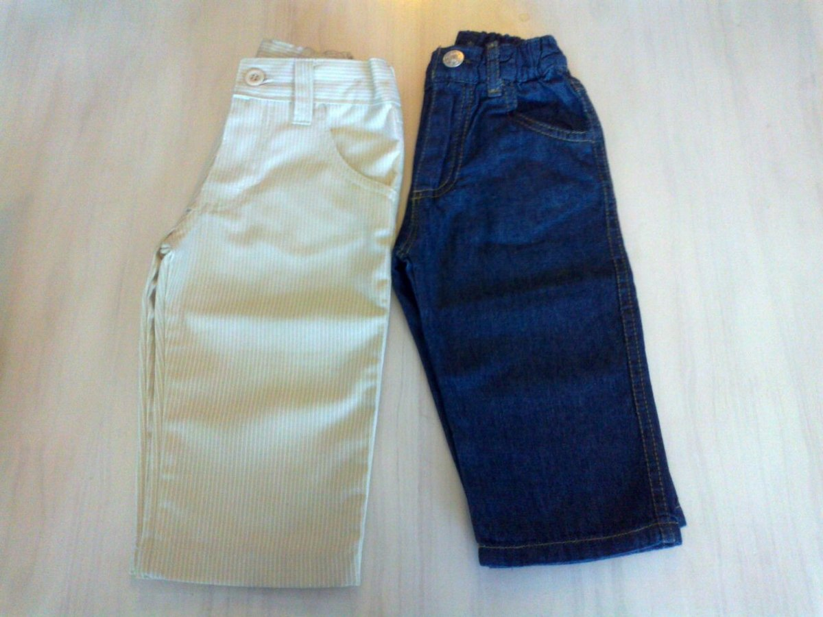 783c08494 Pantalon De Bebe En Gabardina I Piccoli San Isidro - $ 599,00 en ...