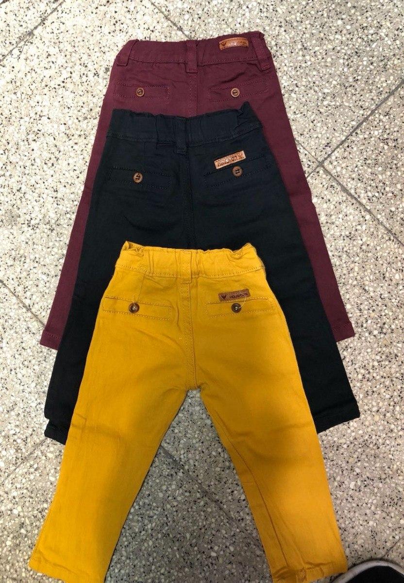 24898a81c Pantalon De Bebe Gabardina De Vestir Corte Chino - $ 300,00 en ...