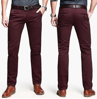 pantalon de caballero slim fit - vestir - tendencia