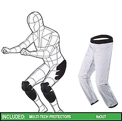 pantalón de calle spidi hurricane textil negro 2xl