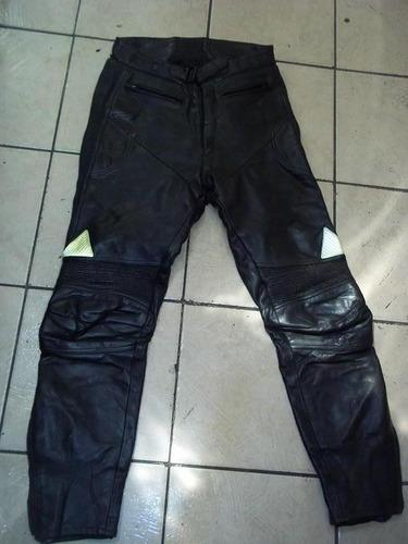 pantalon de cuero para andar en moto talla 40