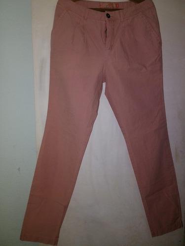 pantalón de dama en gabardina