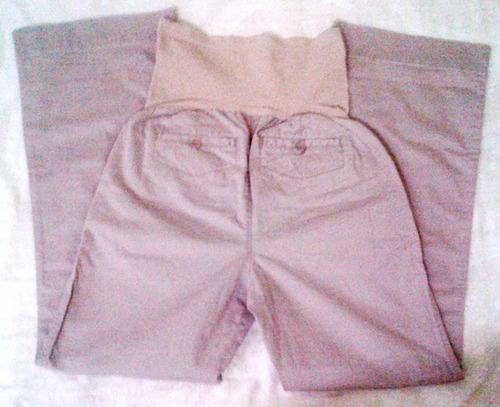 pantalon de dama para  embarazada (maternal) talla s