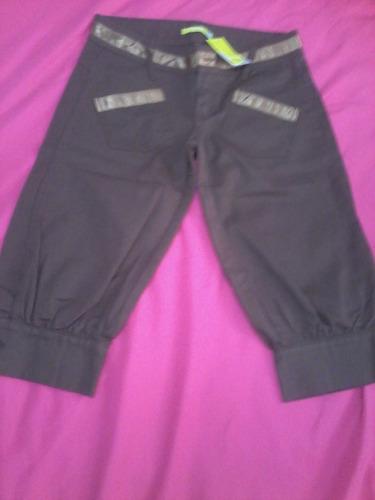 pantalon de dama pesquero marca cy zone talla 28 nuevo