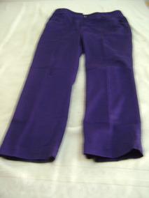 51ef9241b0 Pantalon De Dama Tela Azul Sprinfid De Segunda Mano