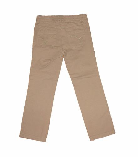 pantalon de gabardina beige calvin klein de usa!