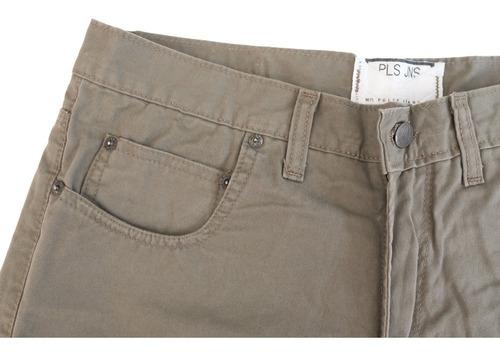 pantalón de gabardina clasico alta densidad talle 38/60