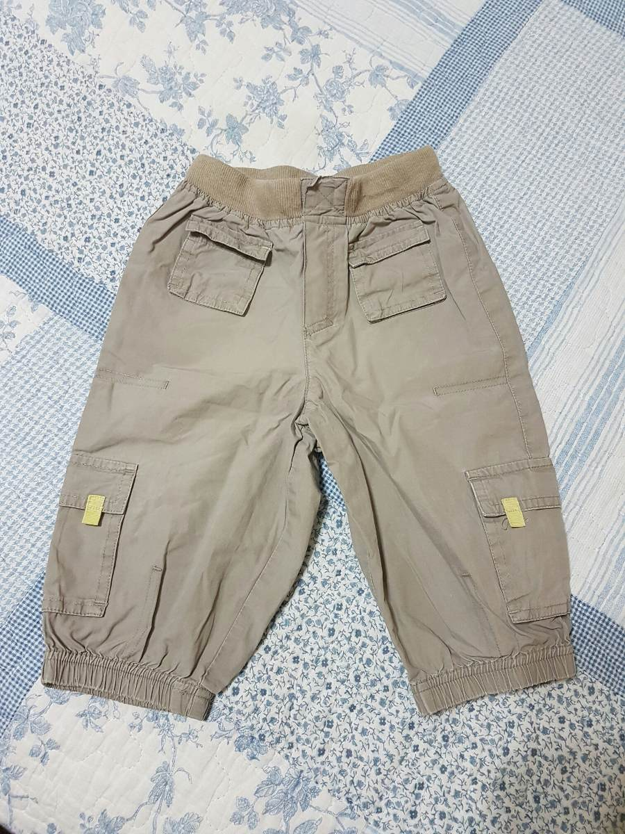 be095d242 pantalon de gabardina finita p/bebe t6-9 meses marca h&m. Cargando zoom.