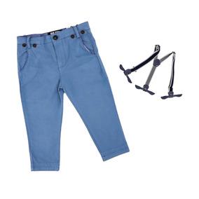 056c13dc1 Pantalon Con Botones Para Tirantes De Ojal - Pantalones y Jeans en ...