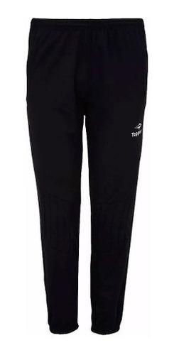 pantalón de golero topper con protección arquero mvdsport