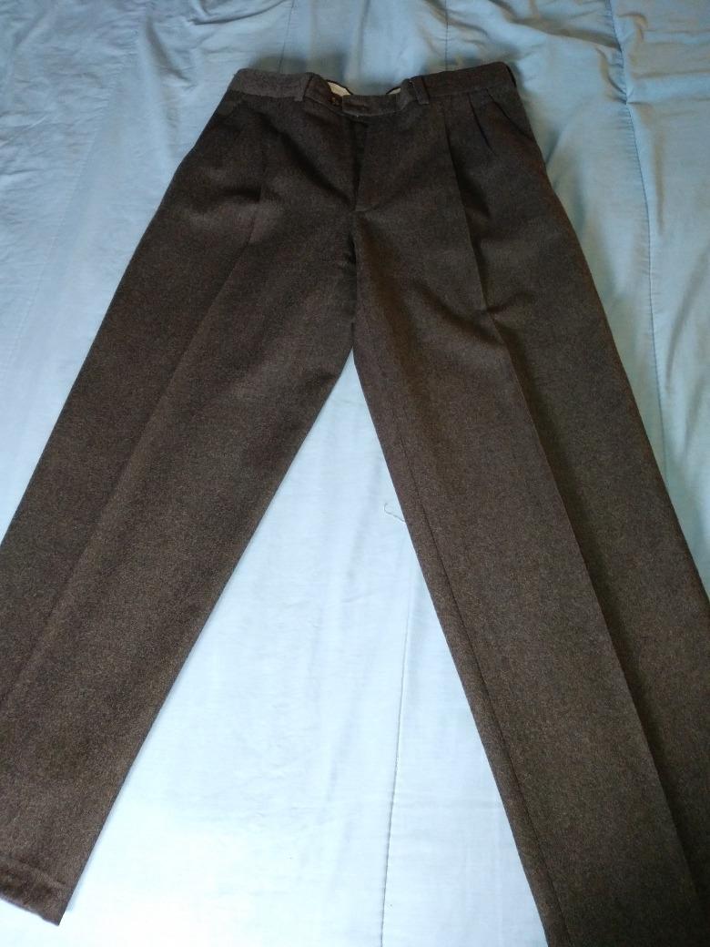 Pantalon 00 De Color Abrigado Sastrero Habano479 Dama T42 Invierno 6gbYf7y