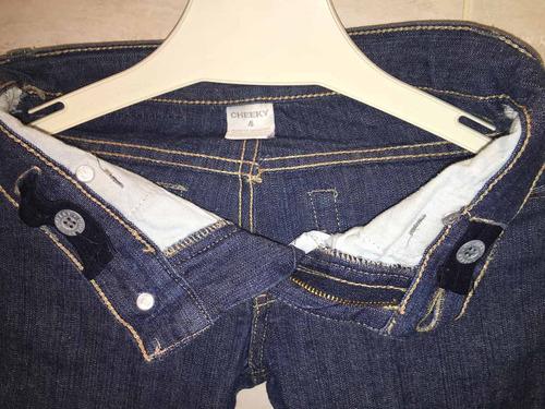 pantalón de jean azul cheeky niños (unisex) 4/5 años