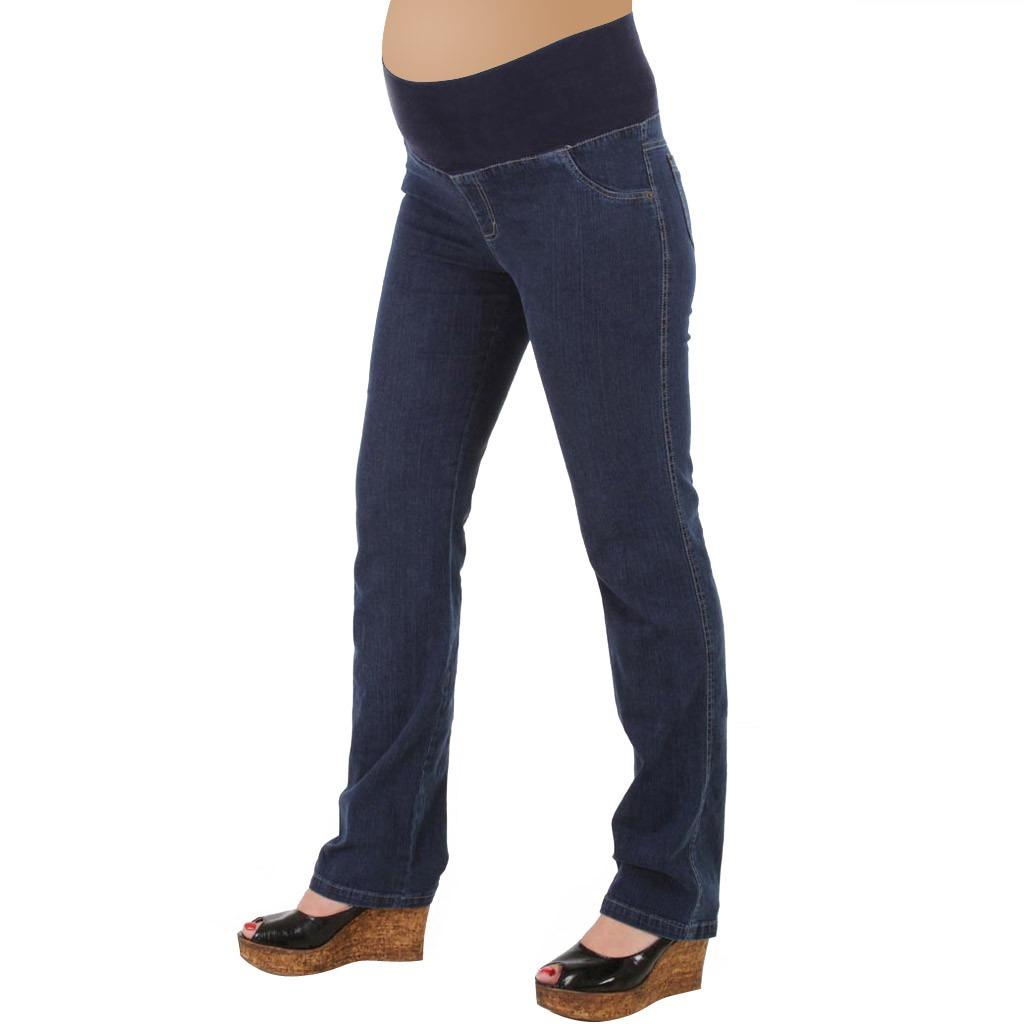 e4a4227a7 Pantalón De Jean Para Embarazada Con Faja En La Cintura - $ 640,00 ...