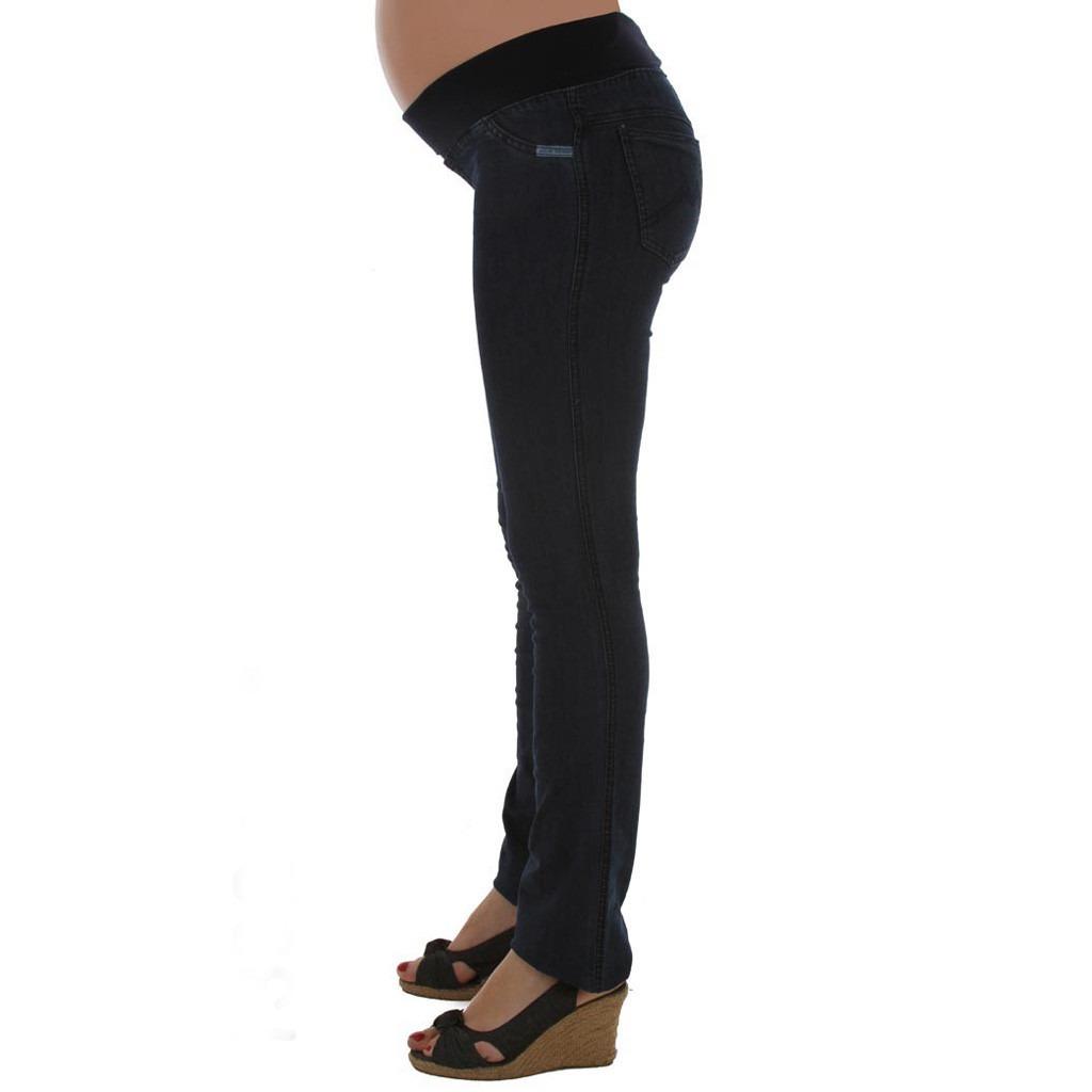 1a27473c0 Pantalón De Jean Para Embarazada Con Faja (ropa Futura Mamá) -   760 ...