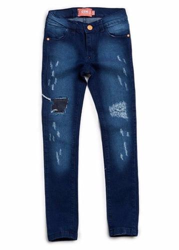 pantalon de jean para niña - maely -