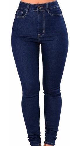 pantalon de jeans mujer elaztizados tiro  alto talle 36 al 46  chupines calce perfecto precio de fabrica