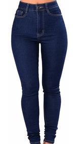 precio asombroso San Francisco replicas Pantalon De Jeans Mujer Elaztizados Tiro Alto Talle 36 Al 46 Chupines Calce  Perfecto Precio De Fabrica